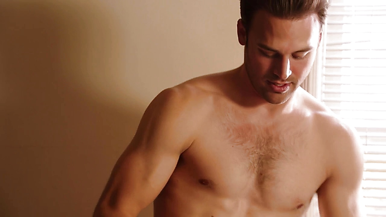 Ryan Guzman sexy shirtless scene November 27, 2018, 1pm