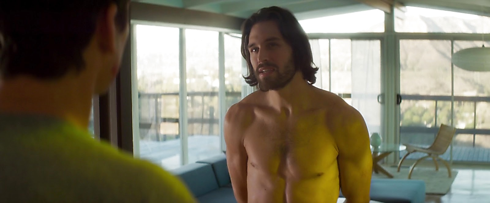 Ryan Guzman sexy shirtless scene July 22, 2019, 1pm