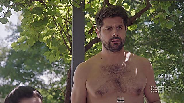 Ryan Johnson sexy shirtless scene May 7, 2021, 4am