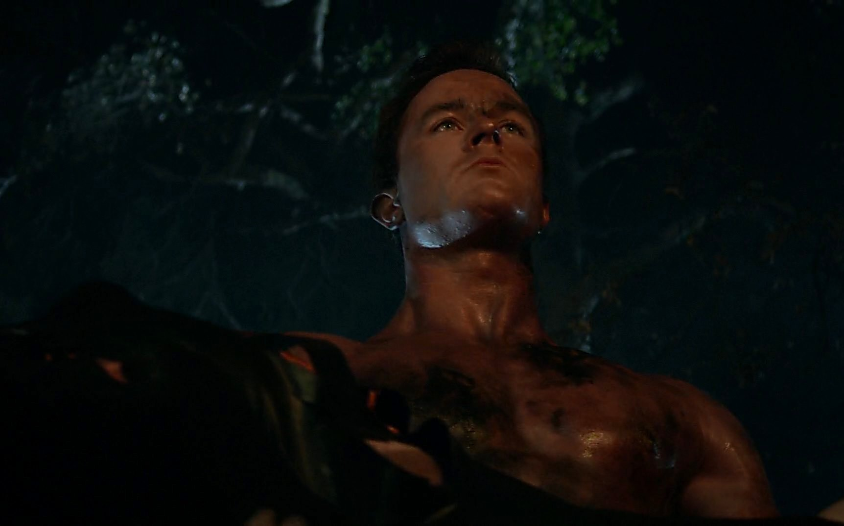Ryan Kelley sexy shirtless scene July 15, 2015, 12am