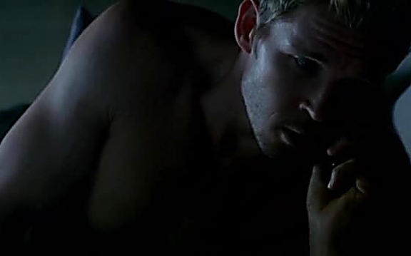 Ryan Kwanten sexy shirtless scene August 4, 2014, 1pm