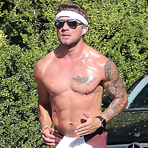 Ryan Phillippe latest sexy shirtless October 5, 2021, 11pm