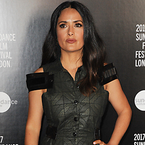 Salma Hayek latest sexy shirtless August 11, 2017, 10pm