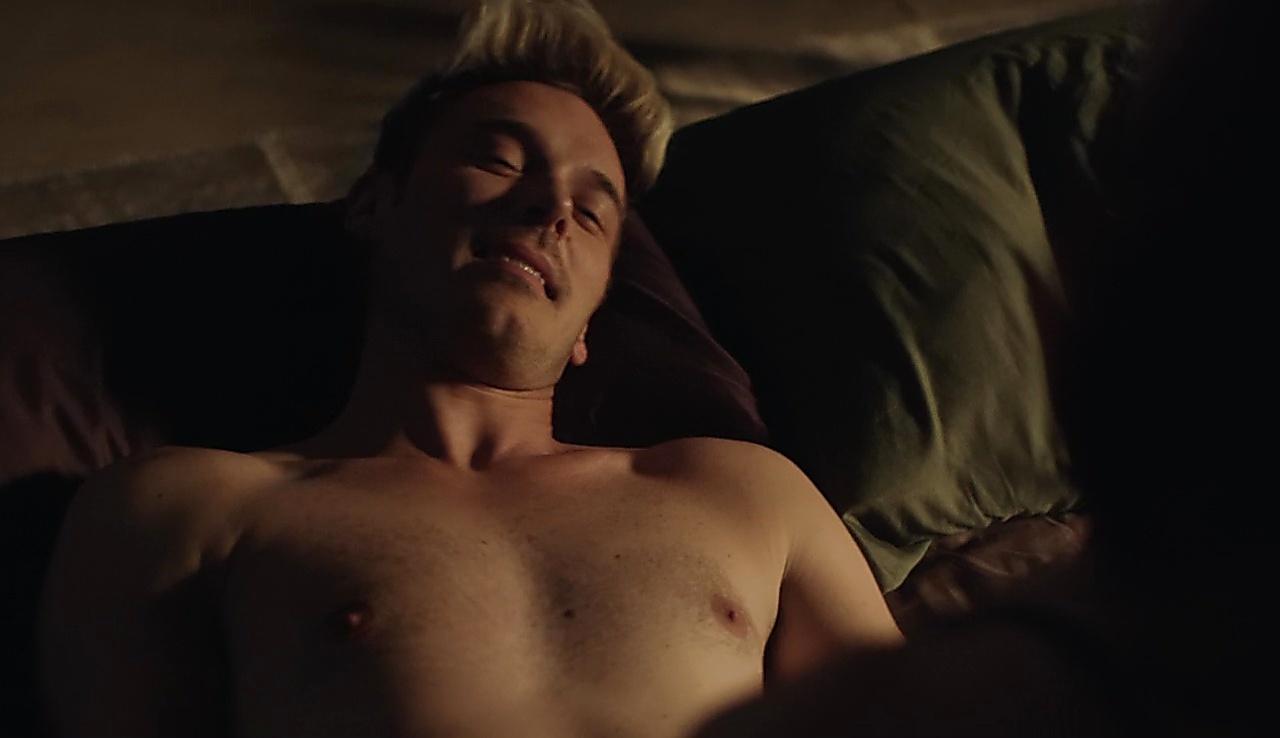 Sam Palladio latest sexy shirtless scene February 10, 2018, 1pm