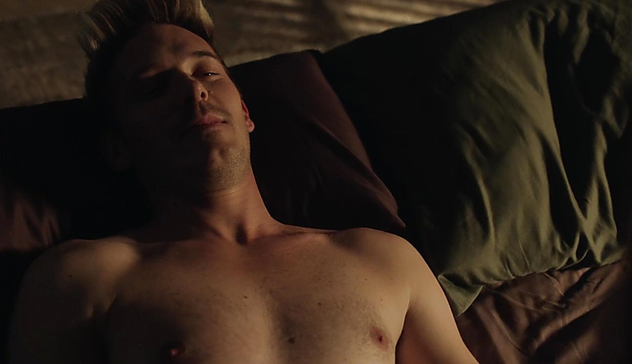 Sam Palladio sexy shirtless scene February 10, 2018, 1pm