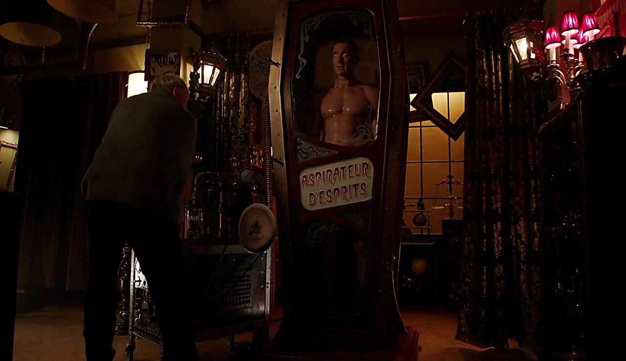 Sasha Roiz sexy shirtless scene February 4, 2017, 12pm