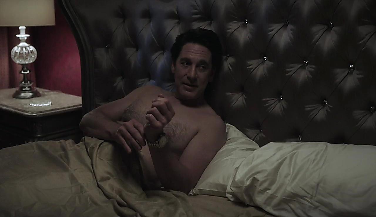 Scott Cohen sexy shirtless scene March 24, 2018, 1pm