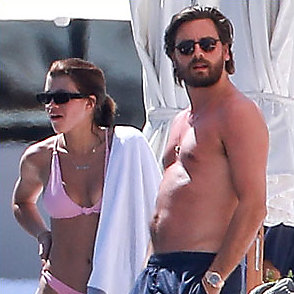 Scott Disick latest sexy shirtless April 1, 2018, 12pm