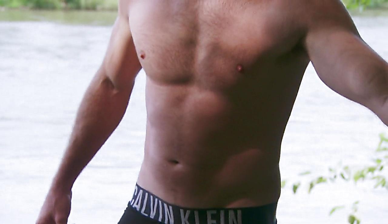 Scott Eastwood sexy shirtless scene July 4, 2018, 12pm