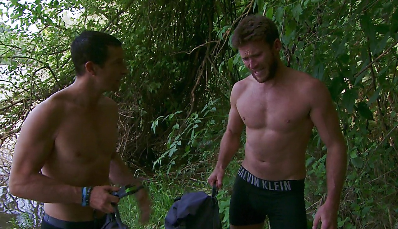 Scott Eastwood sexy shirtless scene July 4, 2018, 12pm