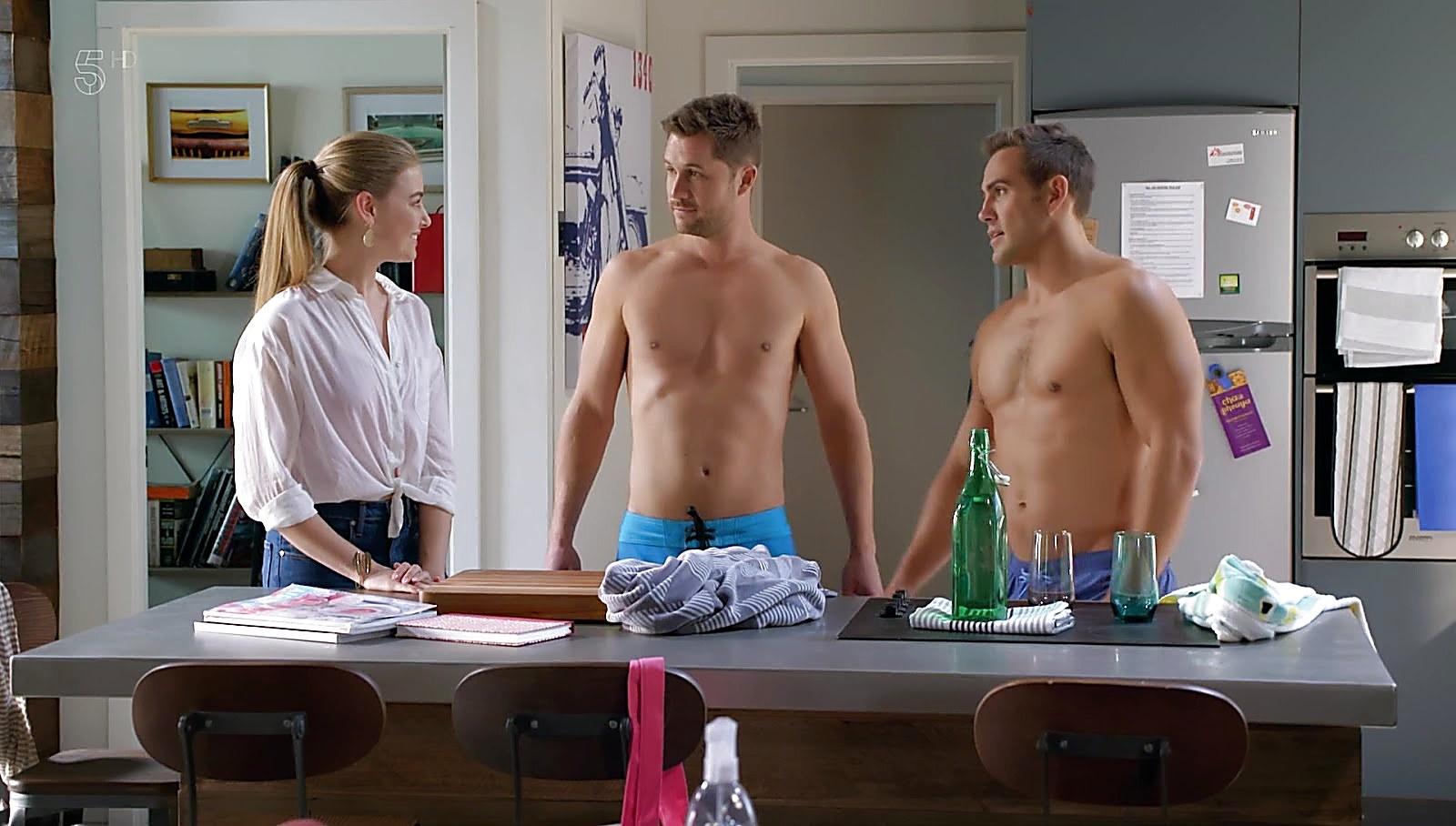 Scott Mcgregor sexy shirtless scene August 8, 2018, 10am