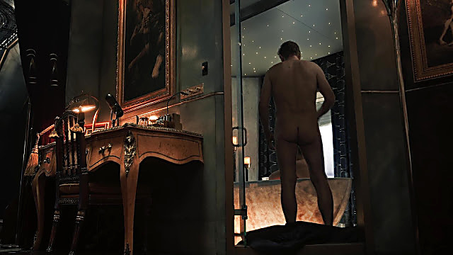 Sean Bean sexy shirtless scene February 2, 2021, 2pm