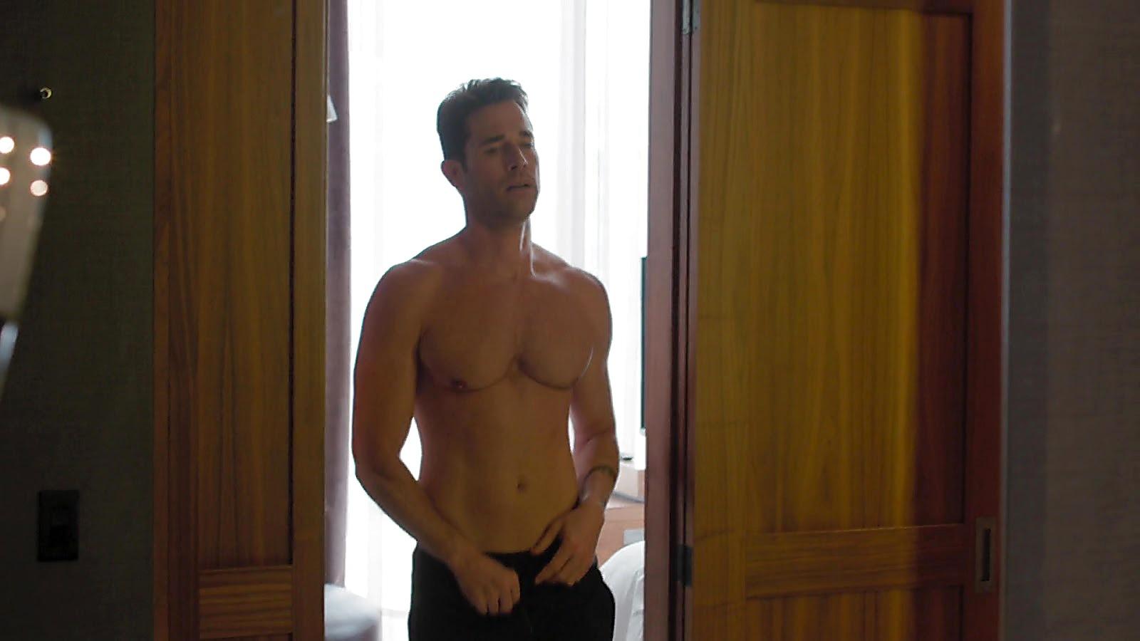 Sebastian Rulli sexy shirtless scene October 20, 2019, 3pm