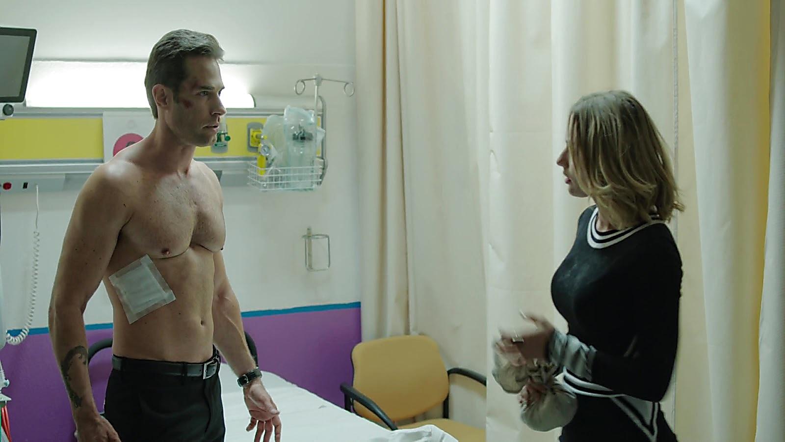 Sebastian Rulli sexy shirtless scene December 23, 2019, 3pm