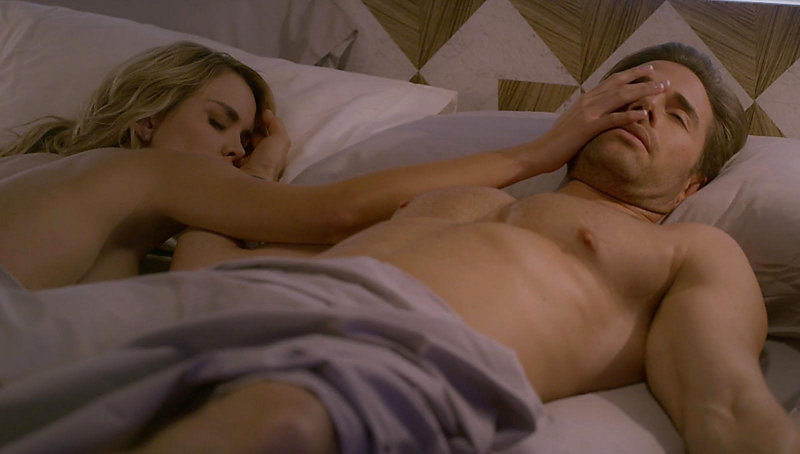 Sebastian Rulli sexy shirtless scene March 1, 2018, 3pm