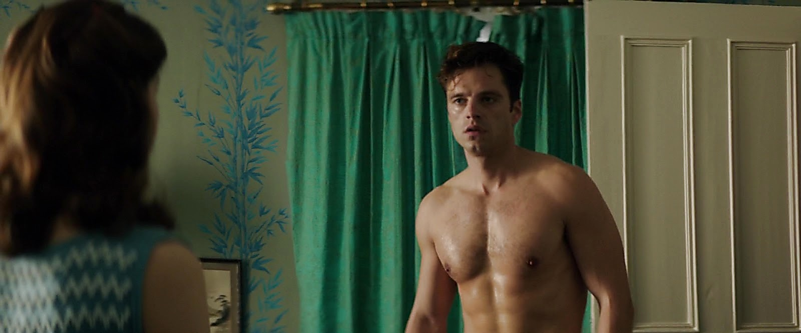 Sebastian Stan sexy shirtless scene May 17, 2019, 10am
