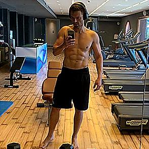 Sebastian Stan latest sexy shirtless August 9, 2019, 1pm