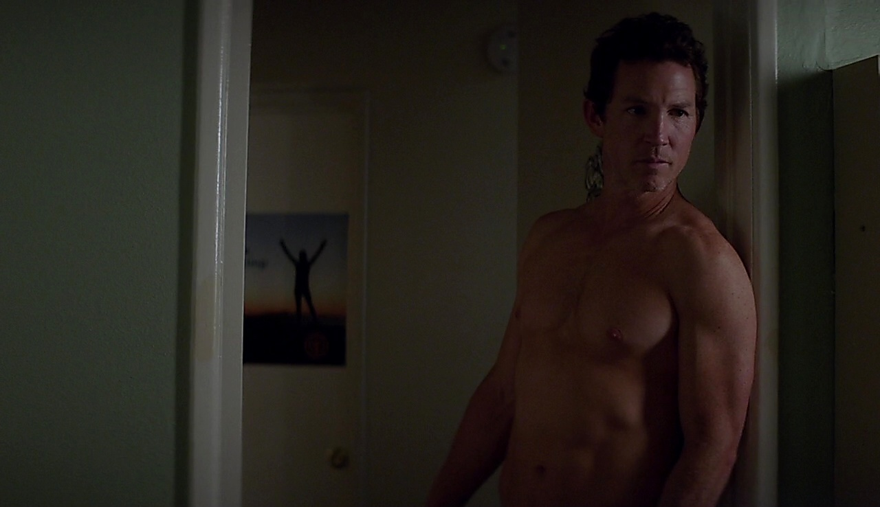 Shawn Hatosy sexy shirtless scene August 20, 2017, 1pm