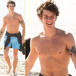 Shawn Mendes latest sexy shirtless November 5, 2019, 8am