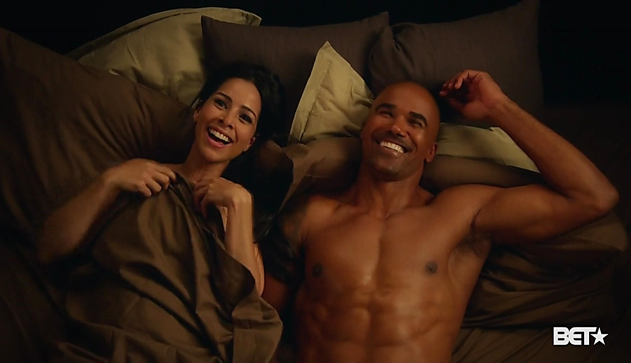 Shemar Moore sexy shirtless scene August 7, 2018, 12pm