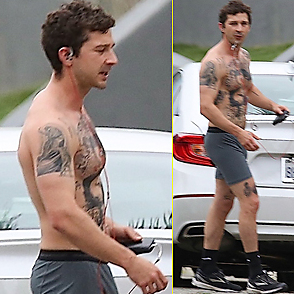 Shia Labeouf latest sexy shirtless May 9, 2019, 8pm