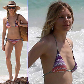 Sienna Miller latest sexy shirtless April 5, 2017, 10pm