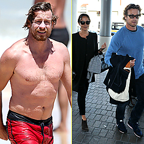 Simon Baker Shirtless 2015 February 04 2015
