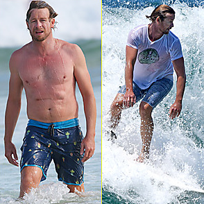 Simon Baker latest sexy shirtless February 19, 2015, 9pm