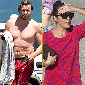 Simon Baker Shirtless 2015 January 26 2015