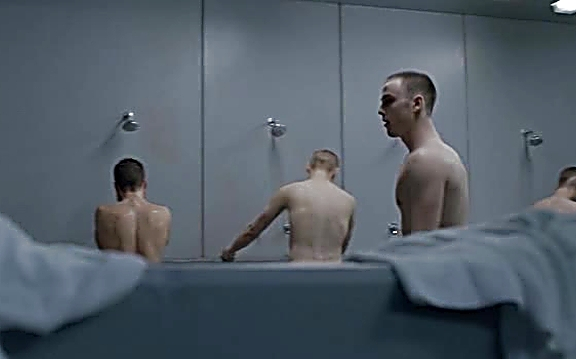 Sterling Beaumon sexy shirtless scene August 18, 2014, 12pm