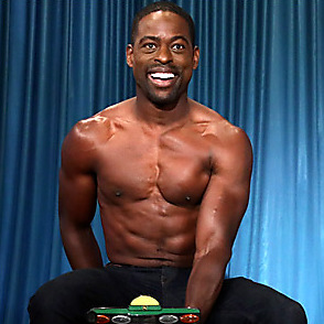 Sterling K Brown latest sexy shirtless September 24, 2017, 8pm