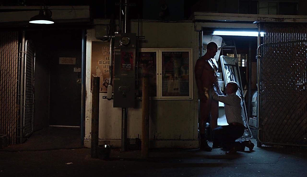 Steve Howey sexy shirtless scene November 6, 2017, 4am