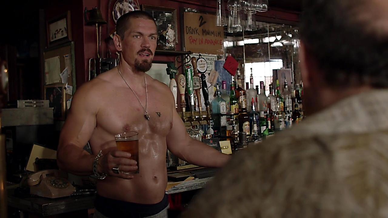 Steve Howey sexy shirtless scene February 24, 2019, 11am