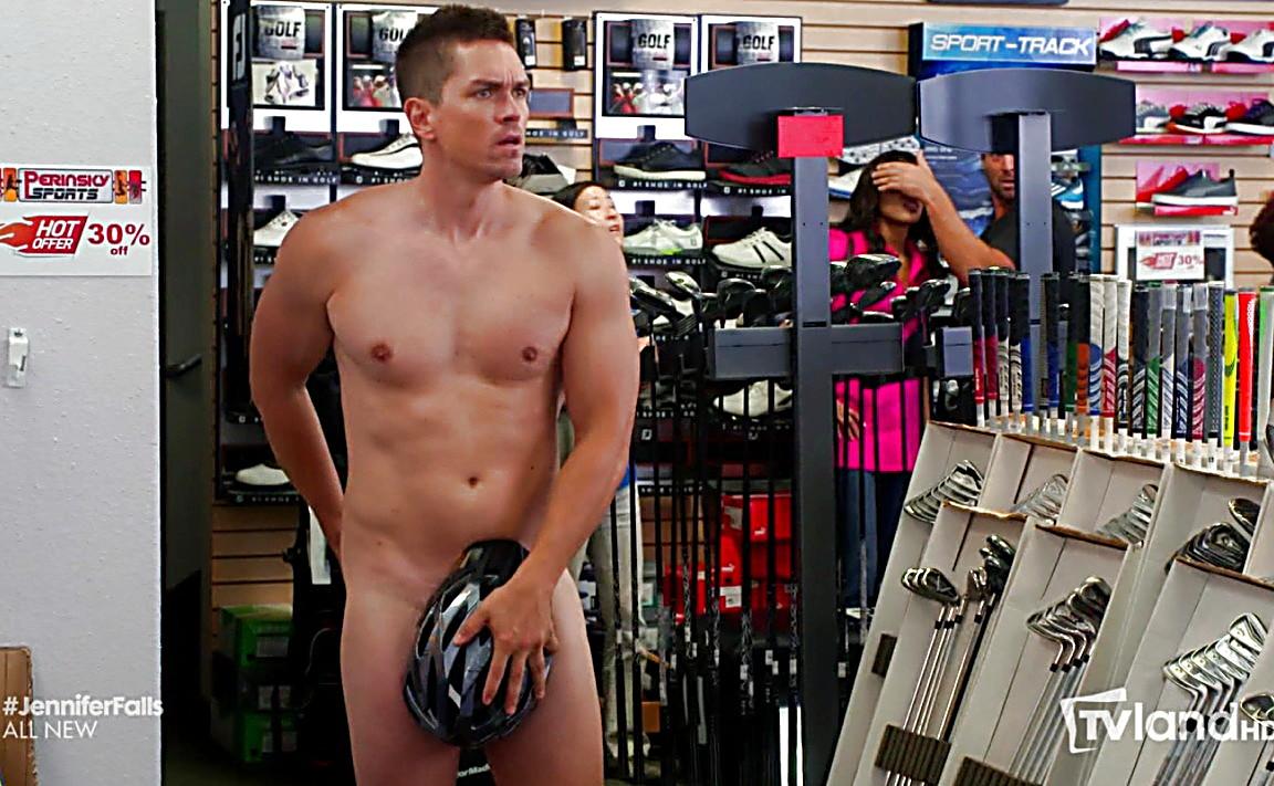 Steve Howey sexy shirtless scene June 26, 2014, 12am