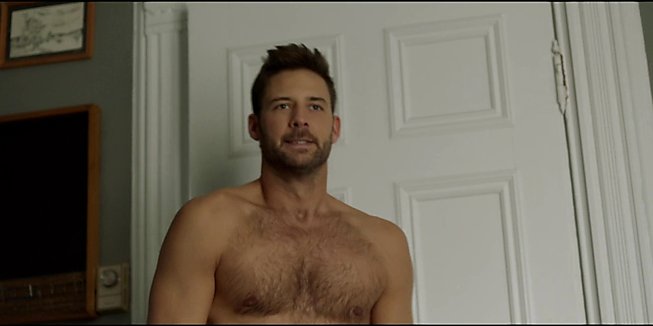Steve Lund sexy shirtless scene April 9, 2019, 11am