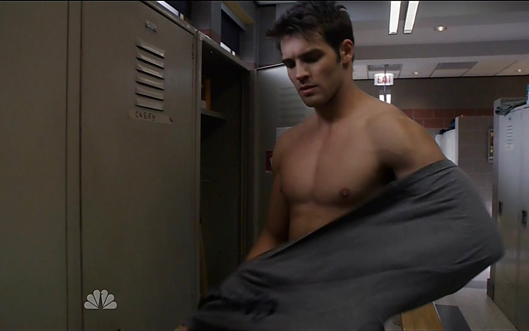 Steven R Mcqueen sexy shirtless scene November 11, 2015, 11pm