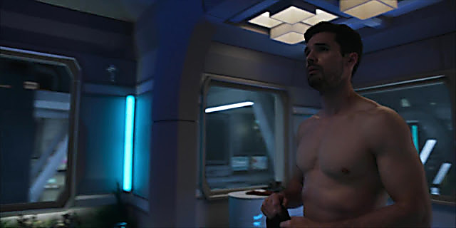 Steven Strait sexy shirtless scene December 16, 2020, 6am