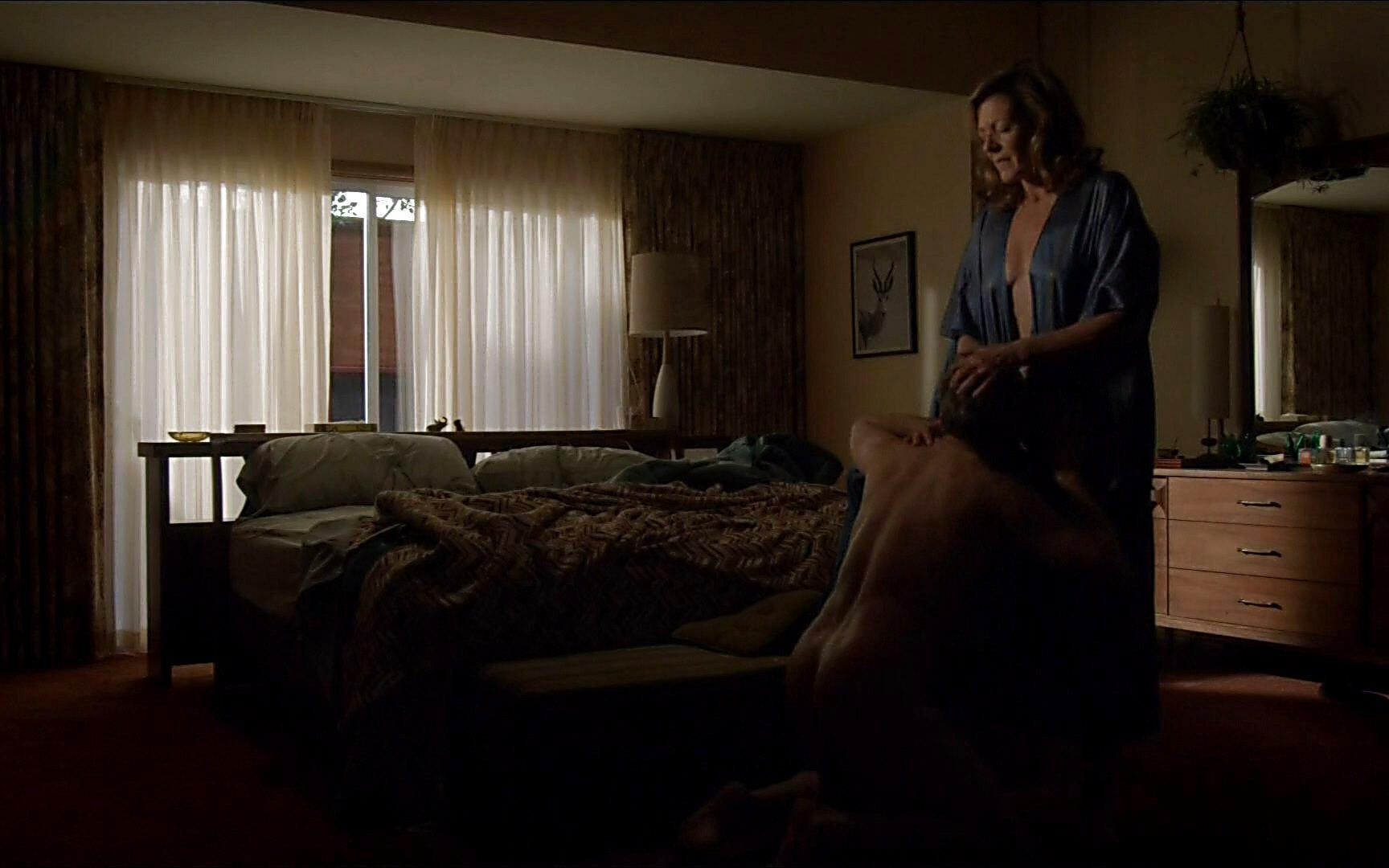 Tate Donovan sexy shirtless scene August 2, 2015, 11pm