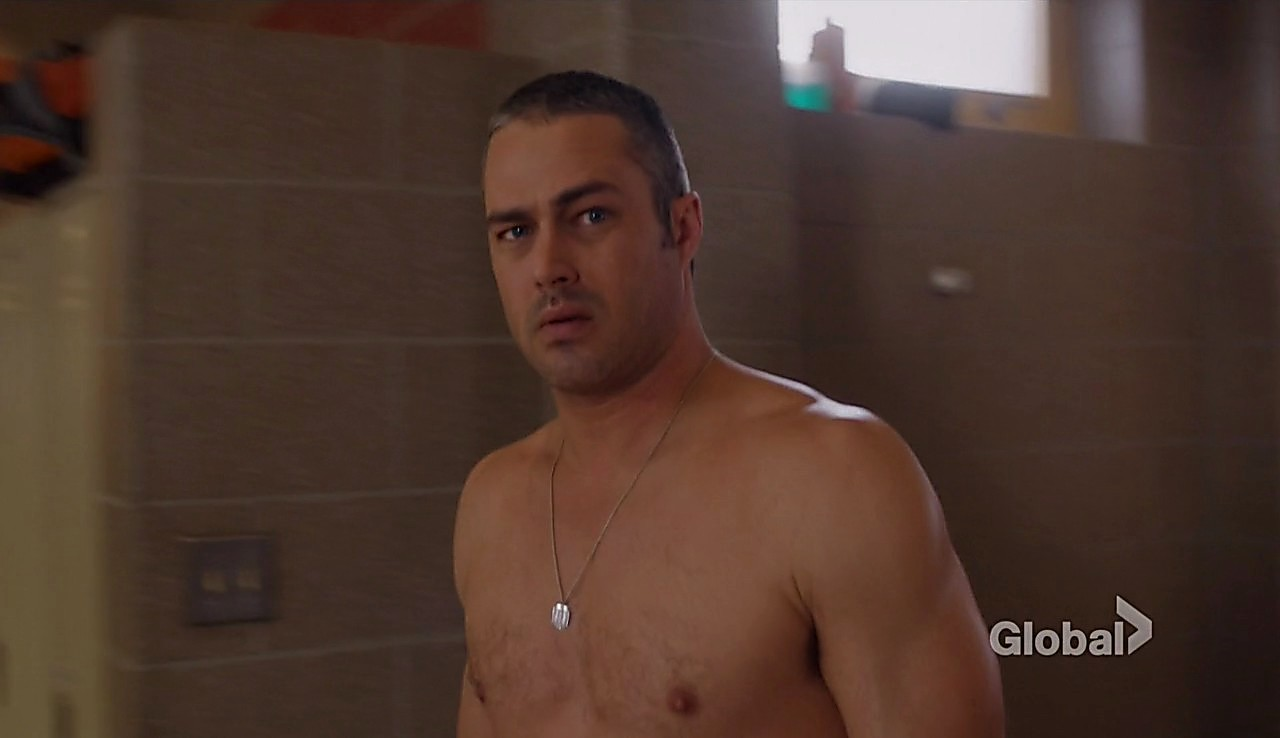Taylor Kinney sexy shirtless scene March 22, 2017, 2pm