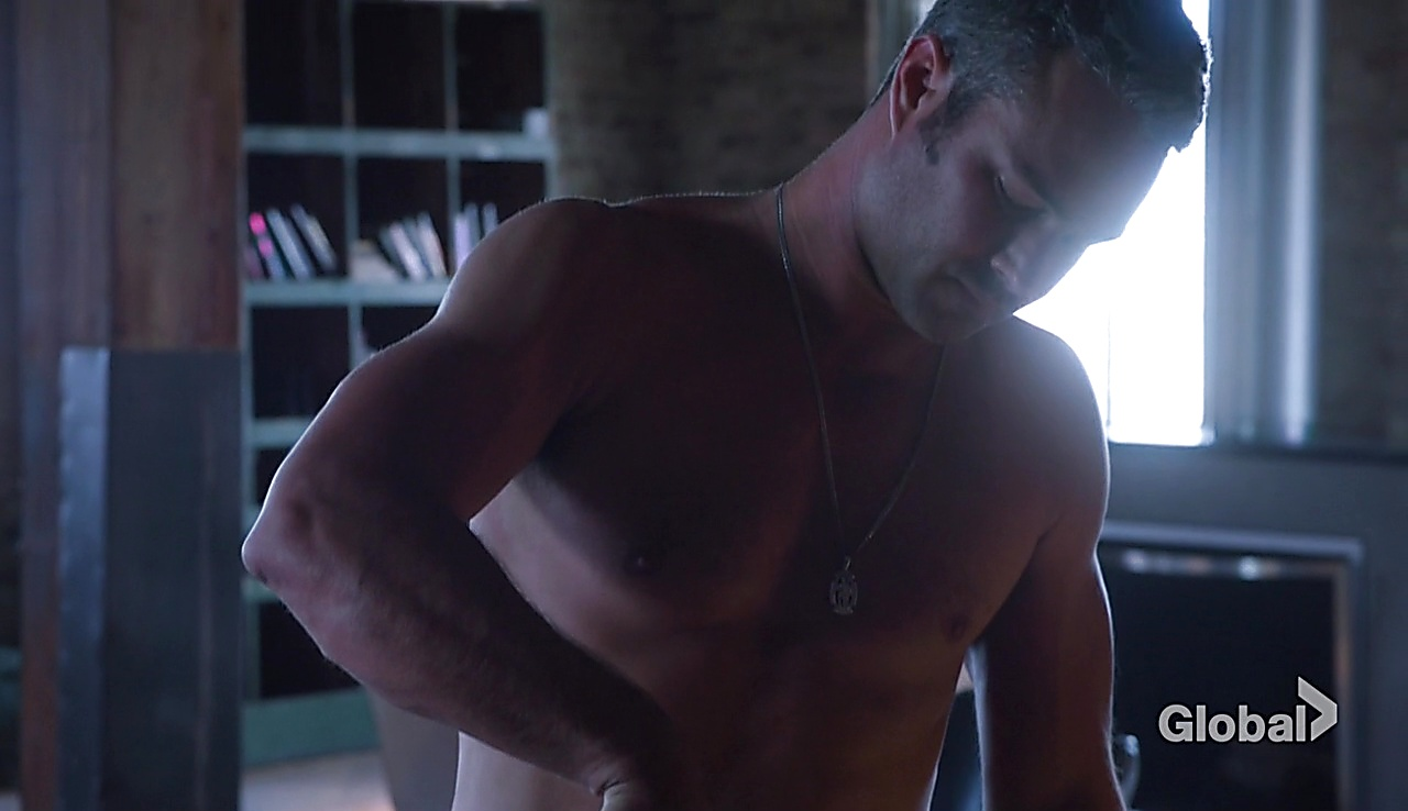 Taylor Kinney sexy shirtless scene October 6, 2017, 3pm