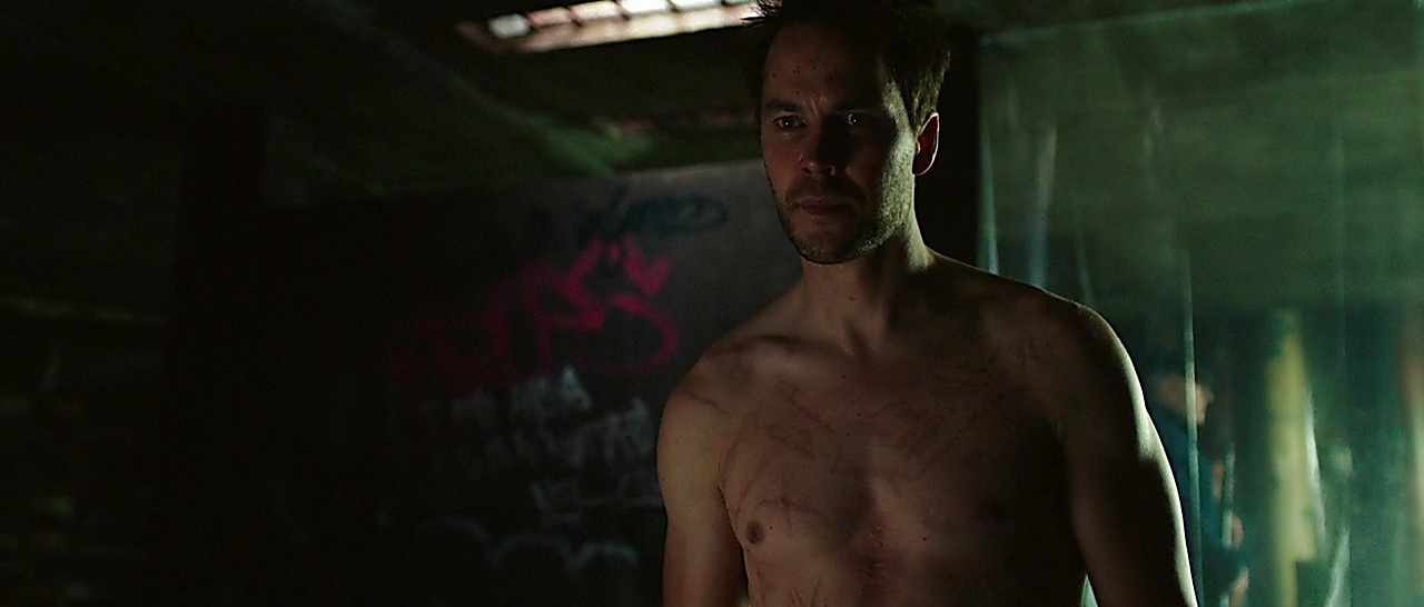 Taylor Kitsch latest sexy shirtless scene November 21, 2017, 2pm