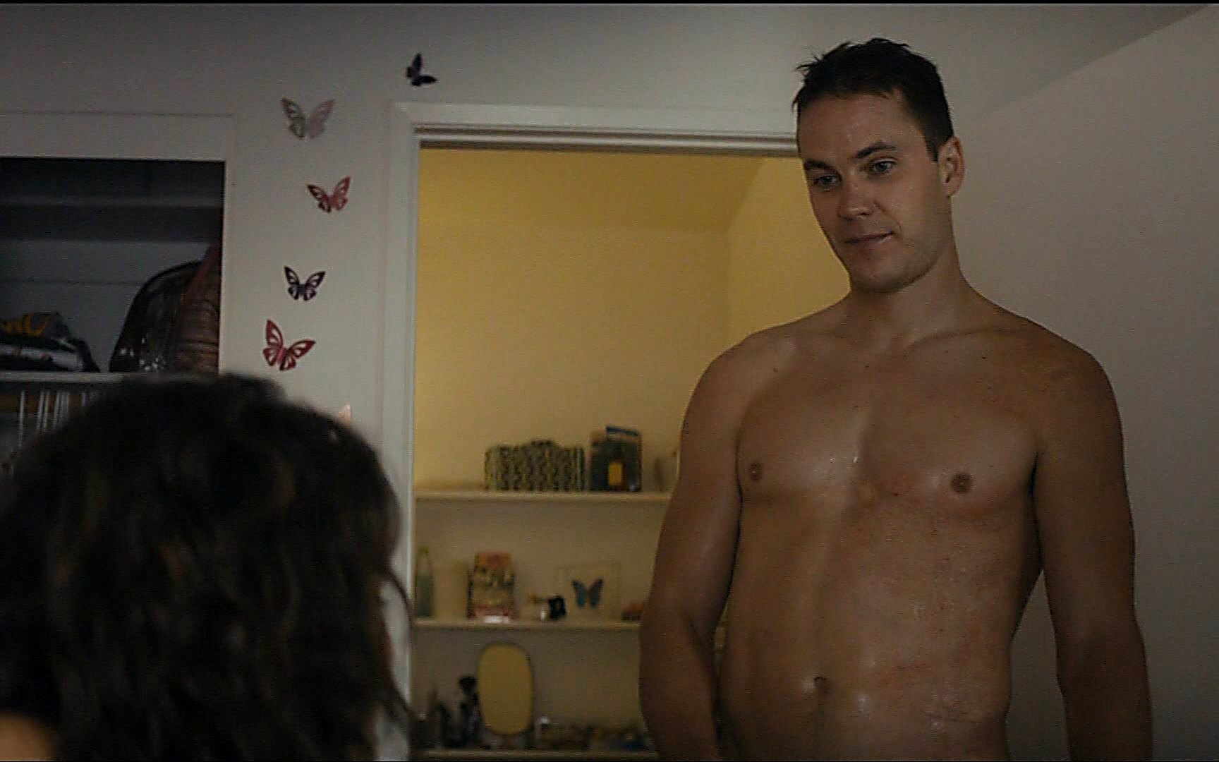 Taylor Kitsch sexy shirtless scene July 11, 2015, 10pm