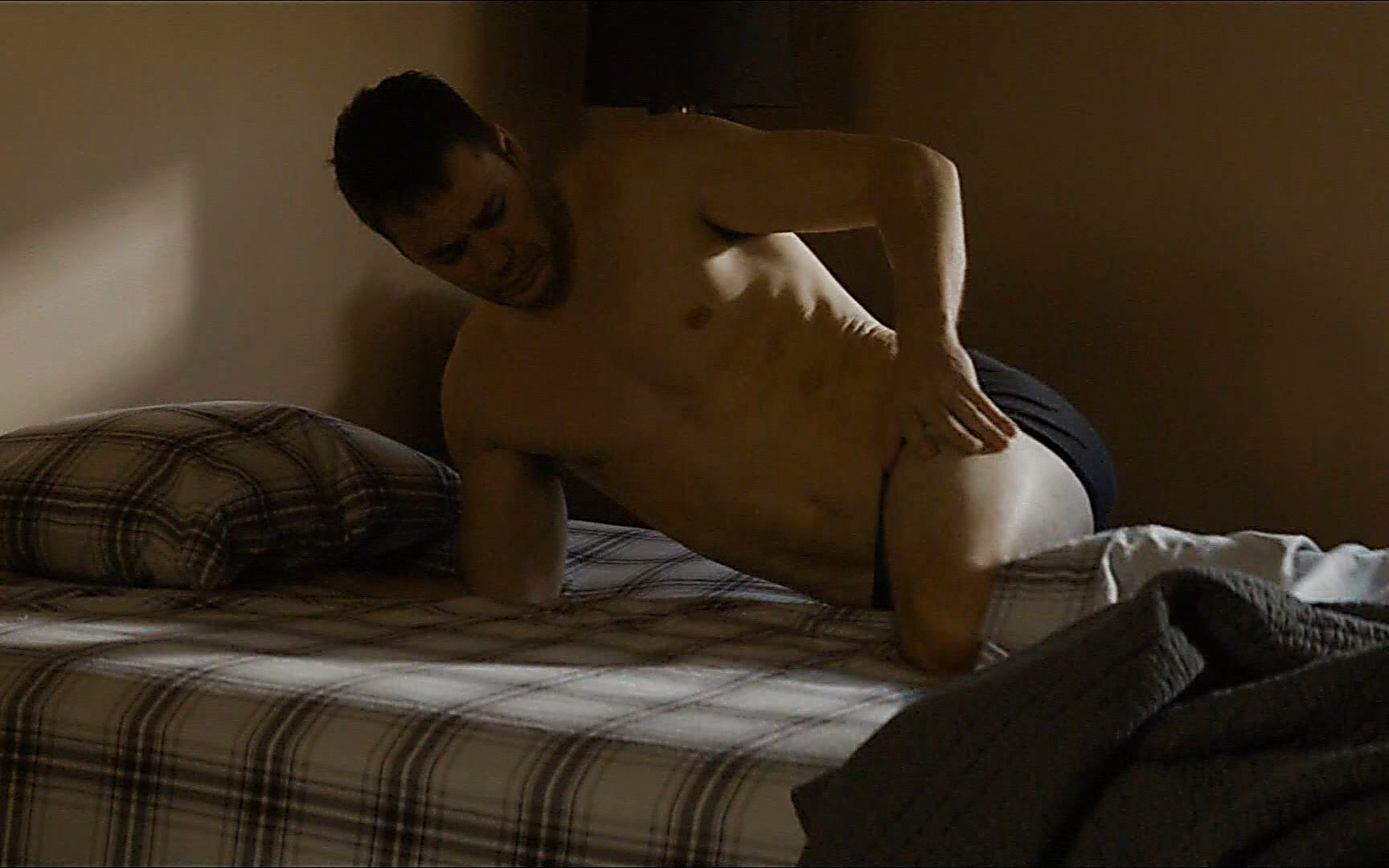 Taylor Kitsch sexy shirtless scene July 12, 2015, 11pm