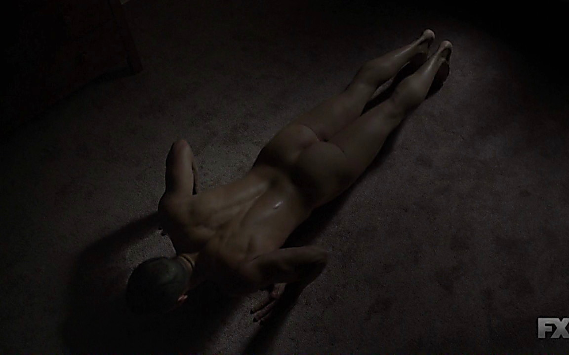 Charlie Hunnam sexy shirtless scene September 28, 2014, 12am