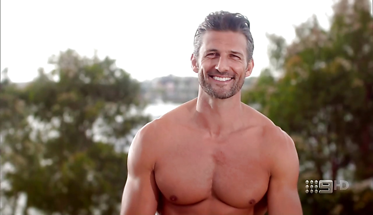Tim Robards sexy shirtless scene August 14, 2017, 11am