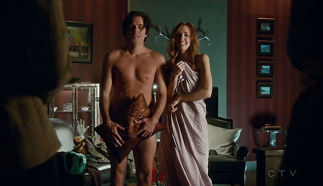 Tim Rozon sexy shirtless scene March 29, 2017, 1pm