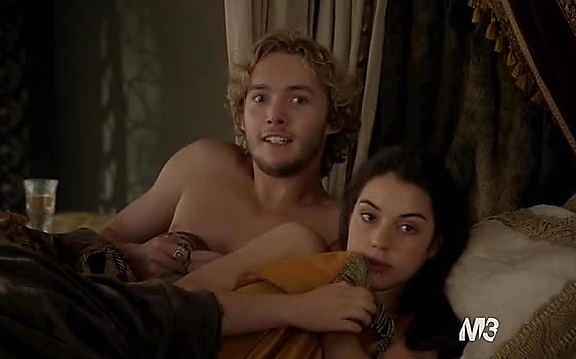 Toby Regbo sexy shirtless scene October 27, 2014, 12pm