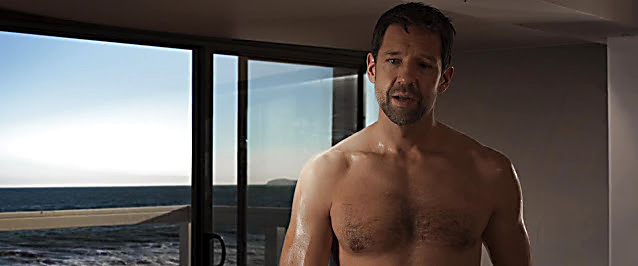 Todd Grinnell sexy shirtless scene February 12, 2021, 5am