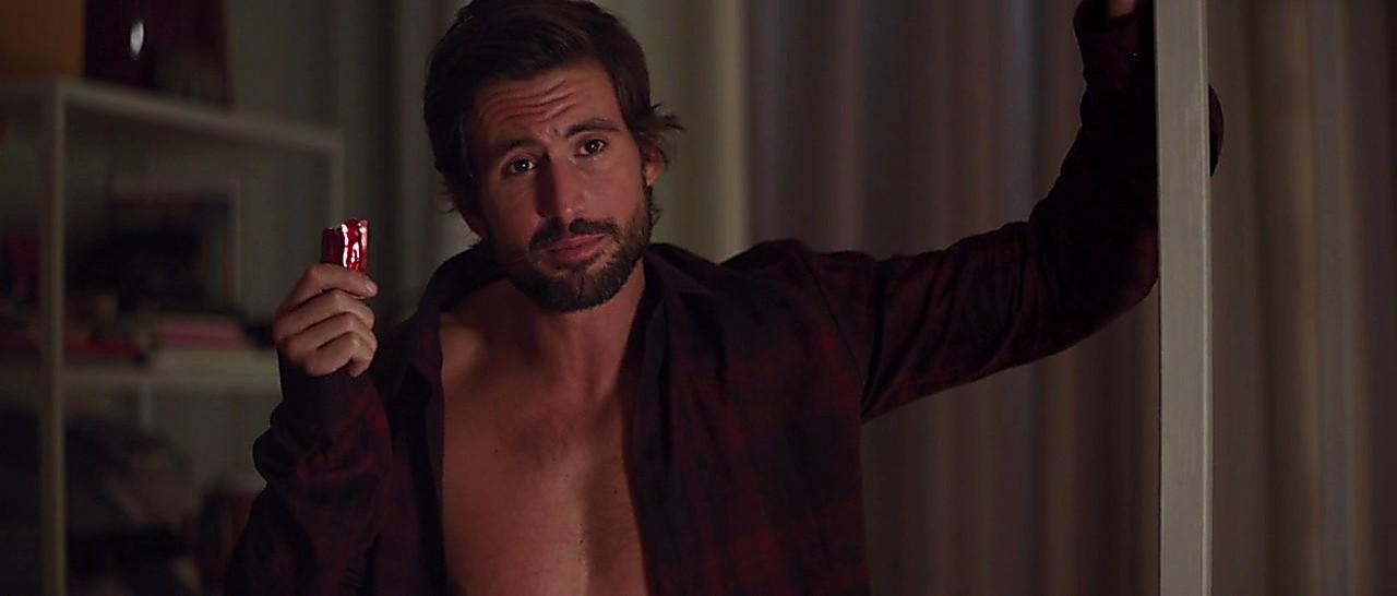 Tom Beck sexy shirtless scene April 23, 2017, 1pm
