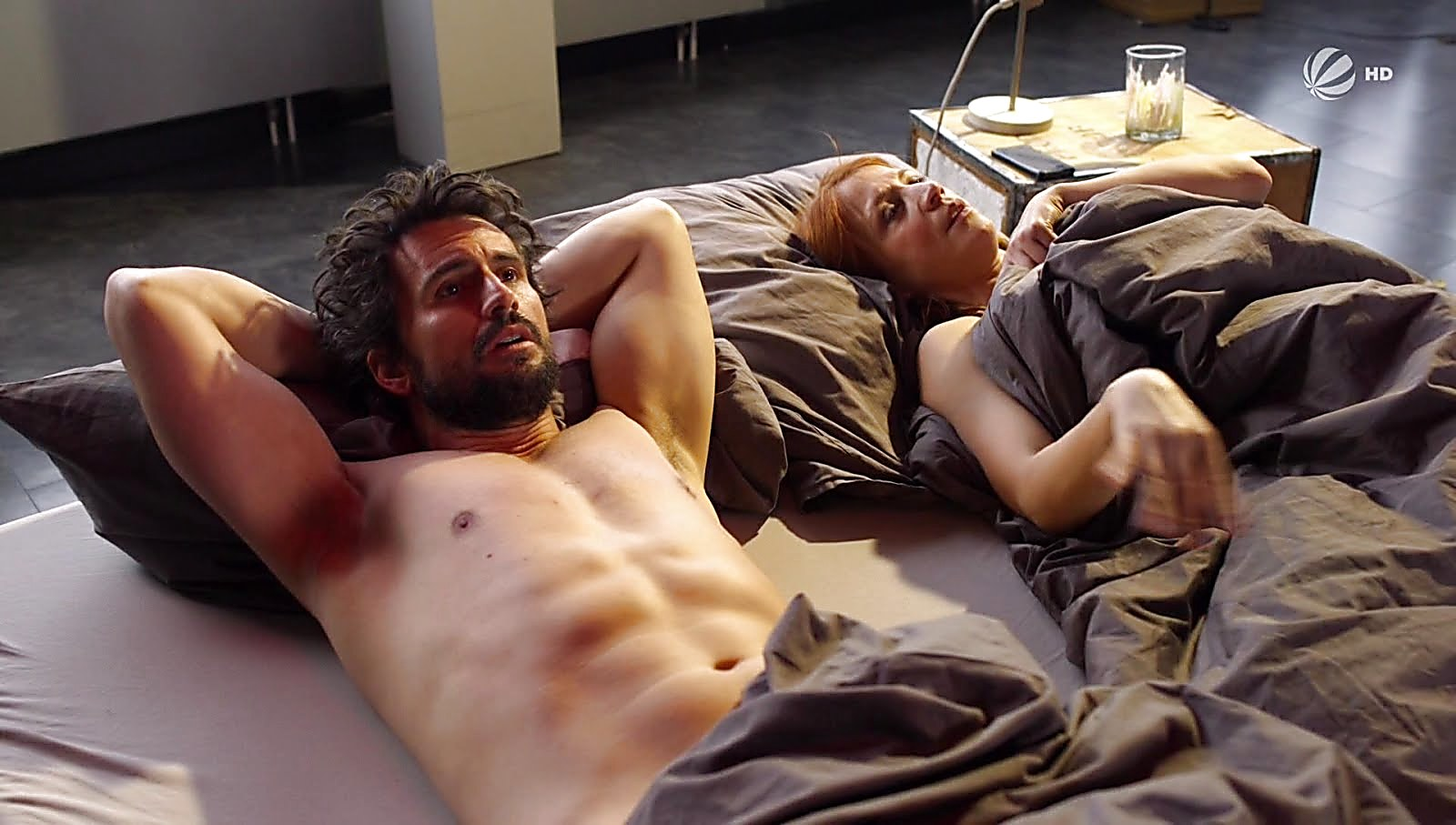 Tom Beck sexy shirtless scene March 18, 2018, 1pm